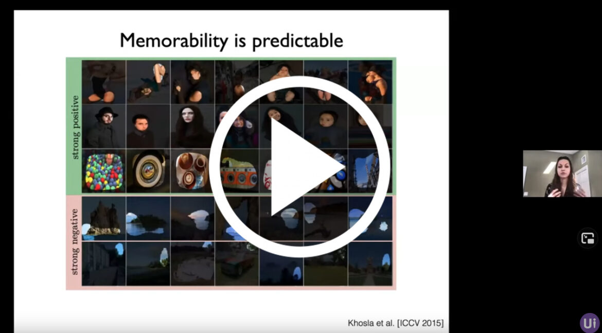 Video of the presentations on AI and Human Memory